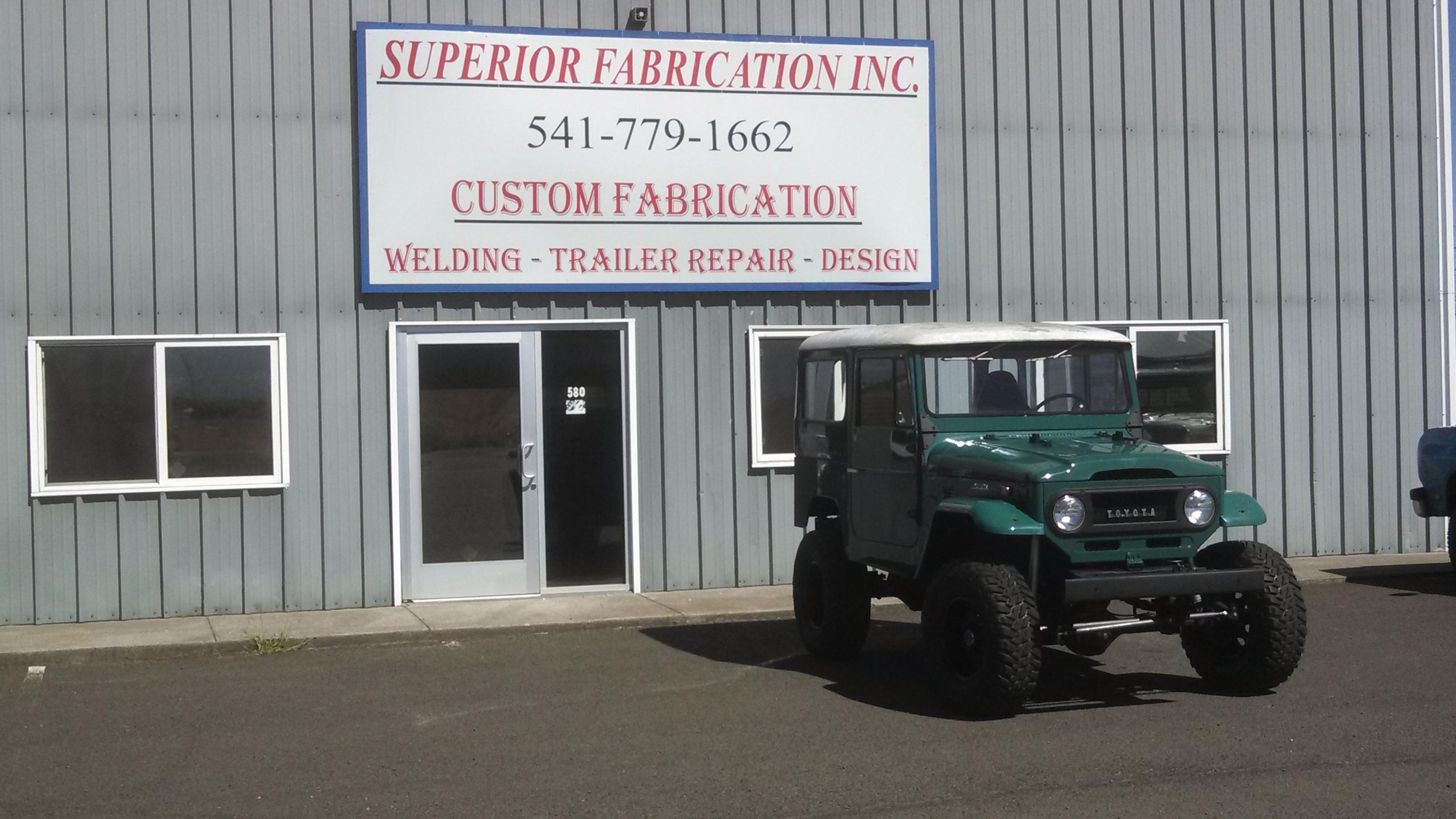 Superior Fabrication Inc - ad image