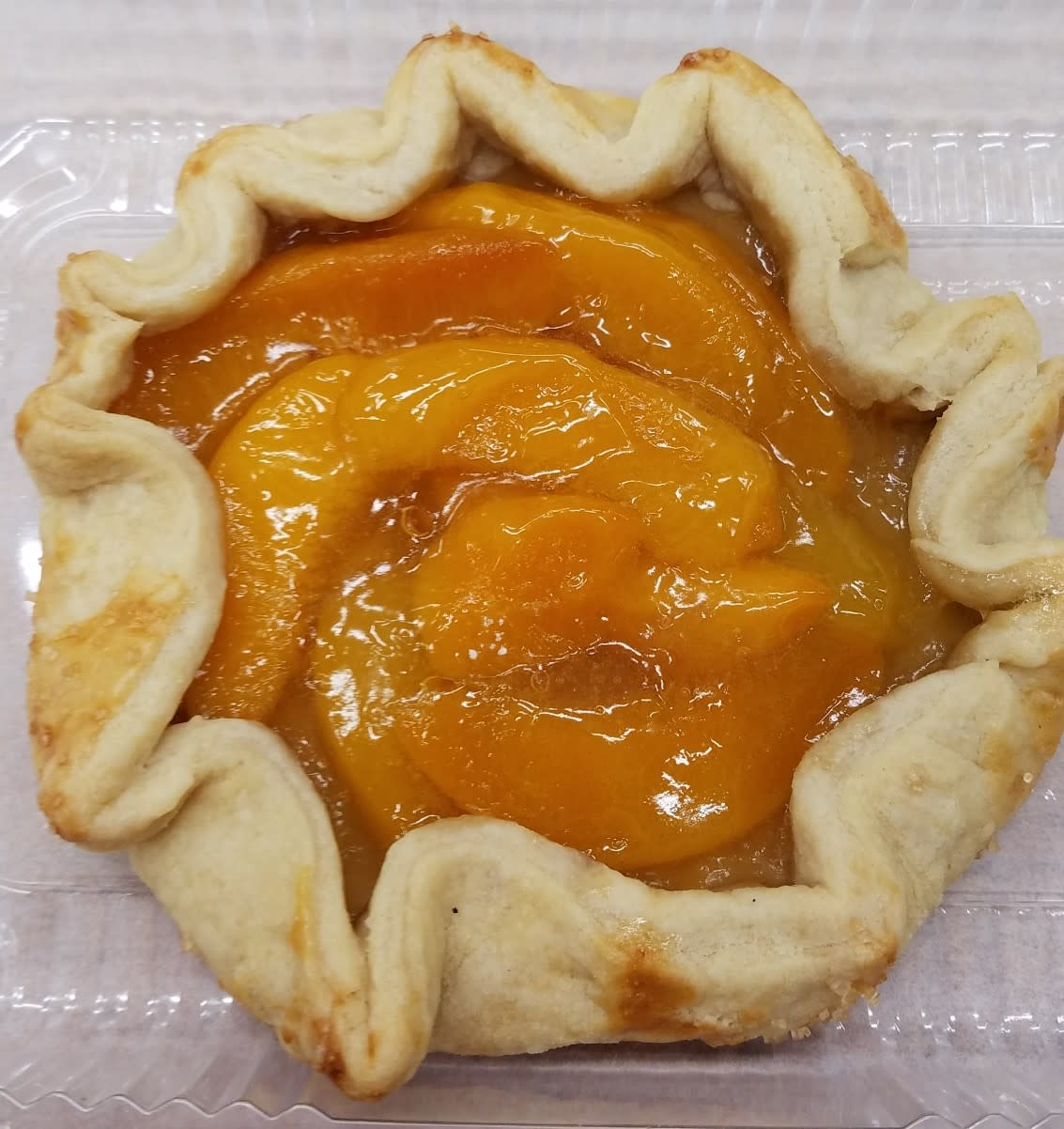 Peach Crostata Sweet Indulgence Curbside Depew (716)444-8802
