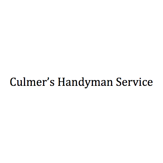 Culmer's Handyman Service