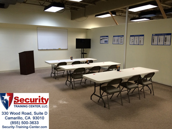 Security Training Center In Camarillo Ca 93010