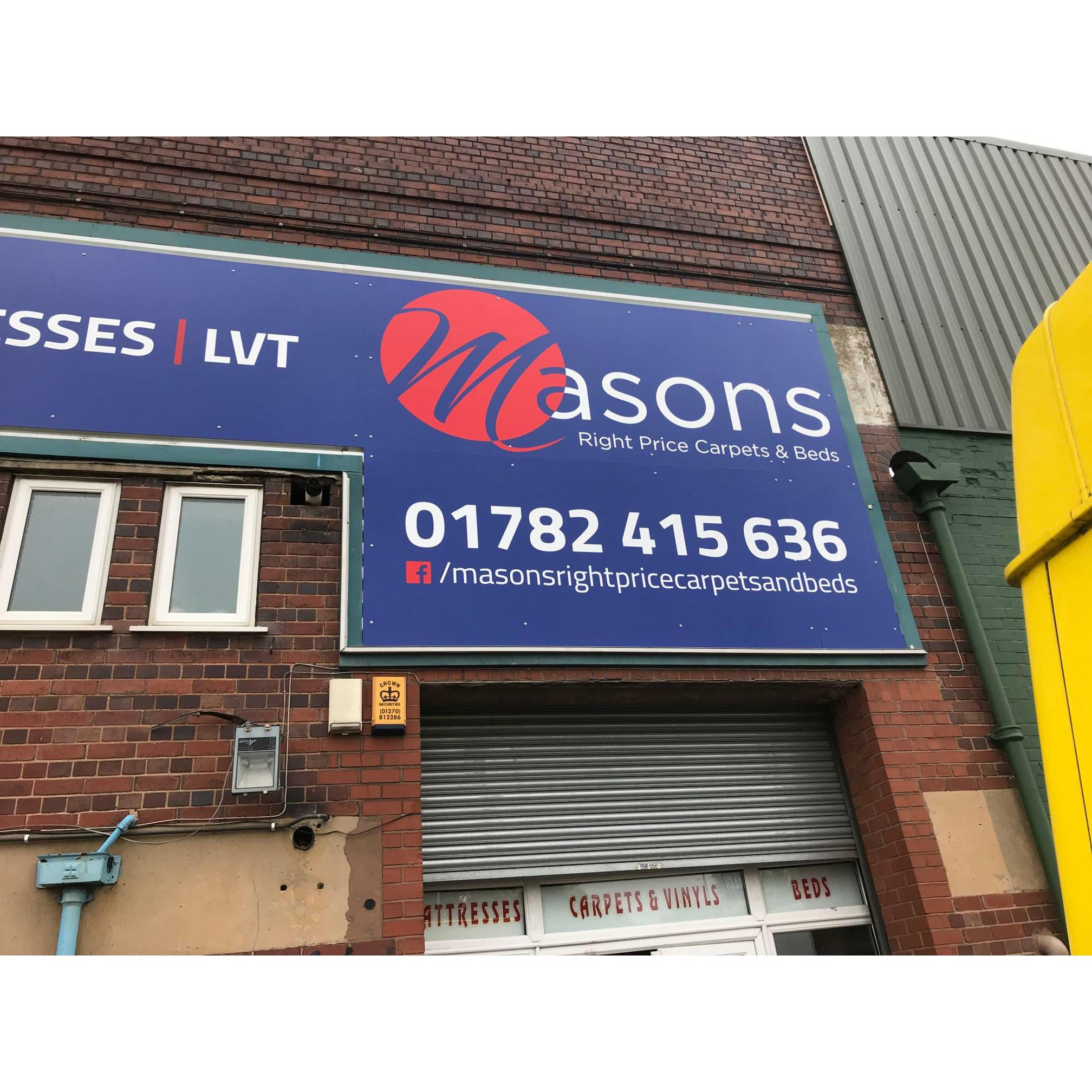 Masons Right Price Carpets & Beds Logo