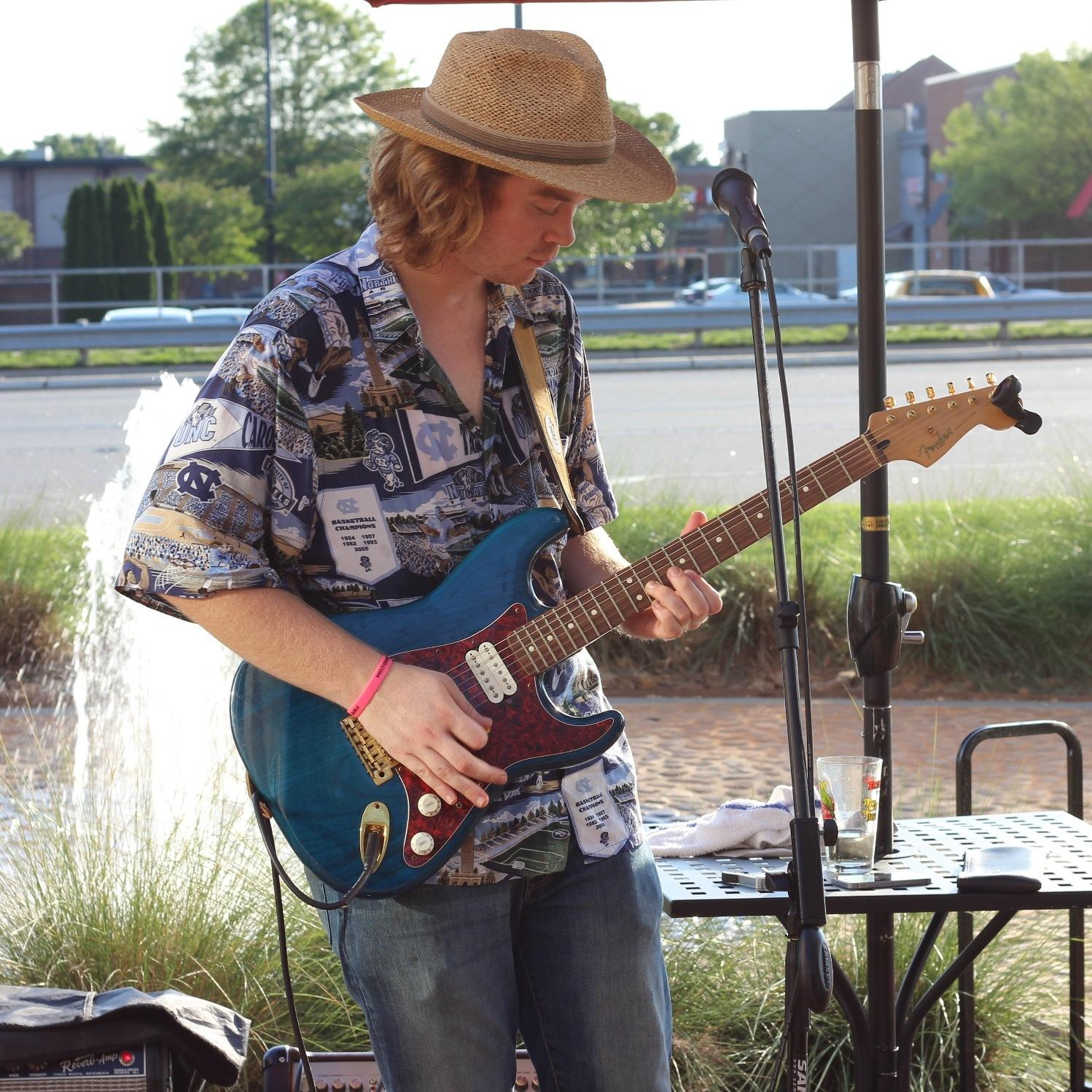 Colton Sherrill playing at Firestorm Pizza Mooresville