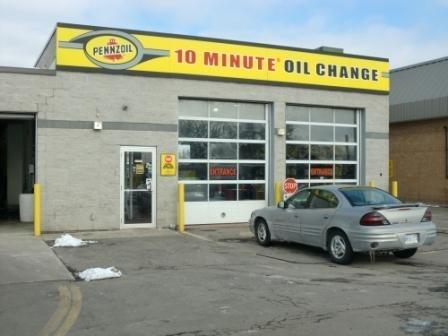 Pennzoil 10 Minute Oil Change