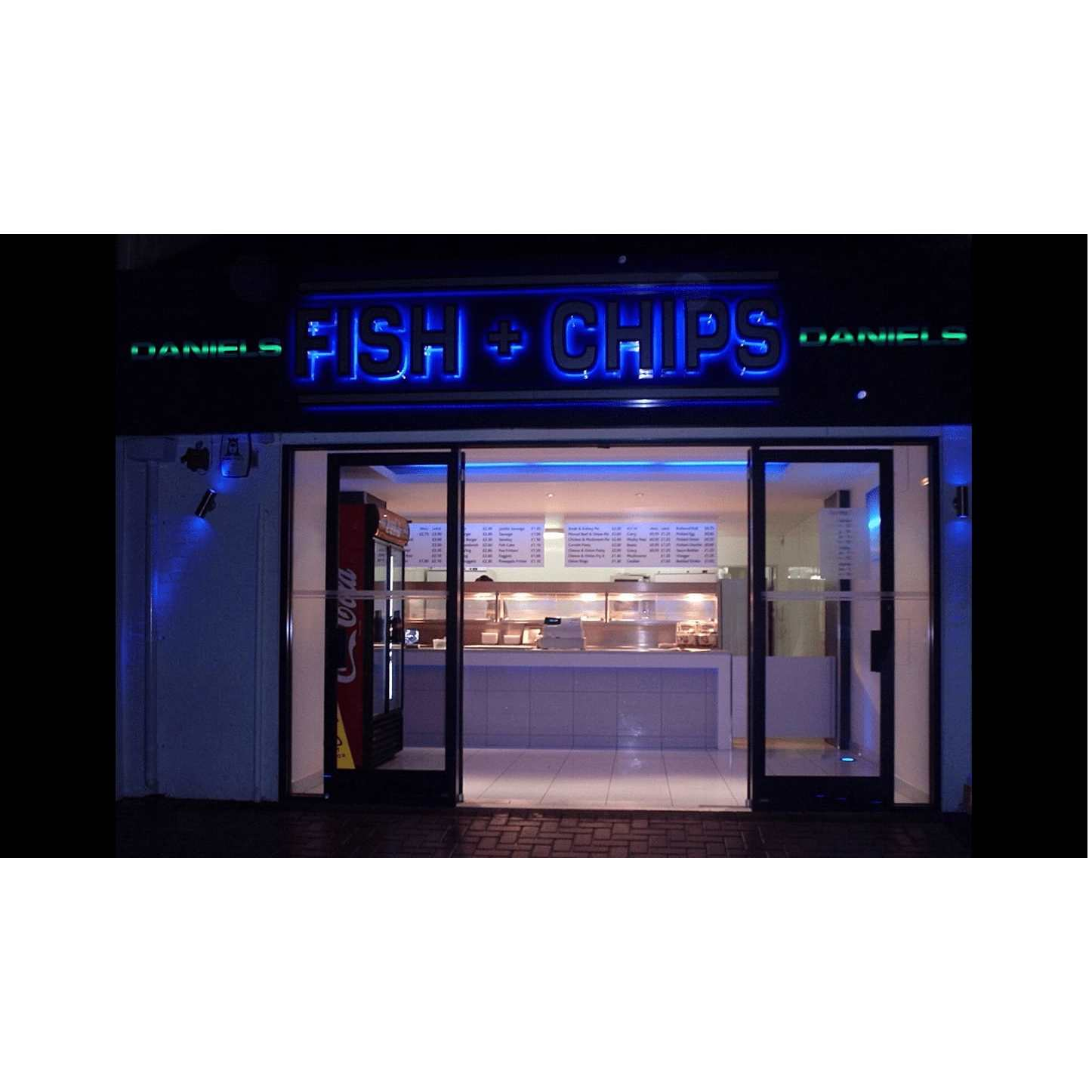 Daniels Fish & Chips - Broadstone, Dorset BH18 8DH - 01202 694798 | ShowMeLocal.com