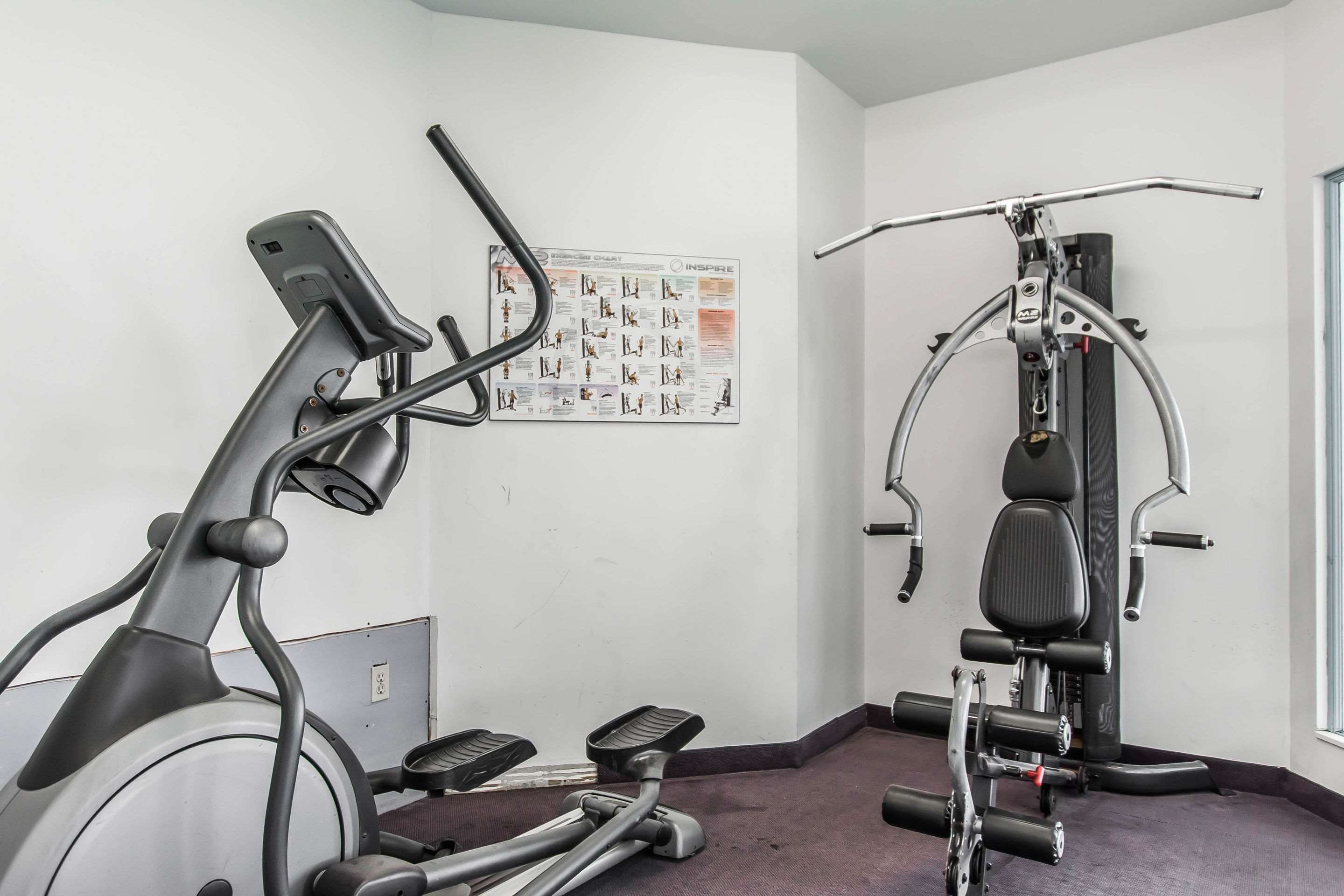 Quality Inn & Suites Garden Of The Gulf in Summerside: Exercise room