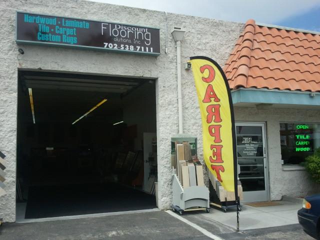 Discount flooring solutions 4080 w desert inn rd ste w104 for Inexpensive flooring solutions