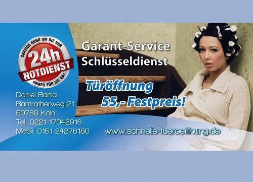 Garant-Service 24h Schlüsseldienst Köln