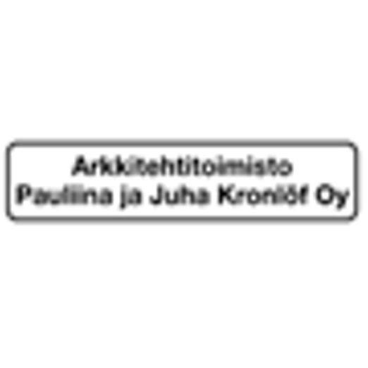 Arkkitehtitoimisto Kronlöf Pauliina ja Juha Oy