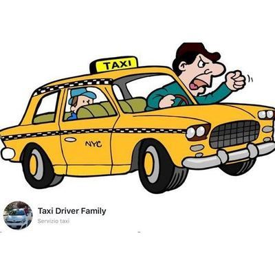 Taxi driver family