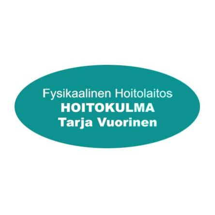 Fysikaalinen hoitolaitos Hoitokulma Tarja Vuorinen