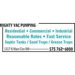 Mighty Vac Pumping Service