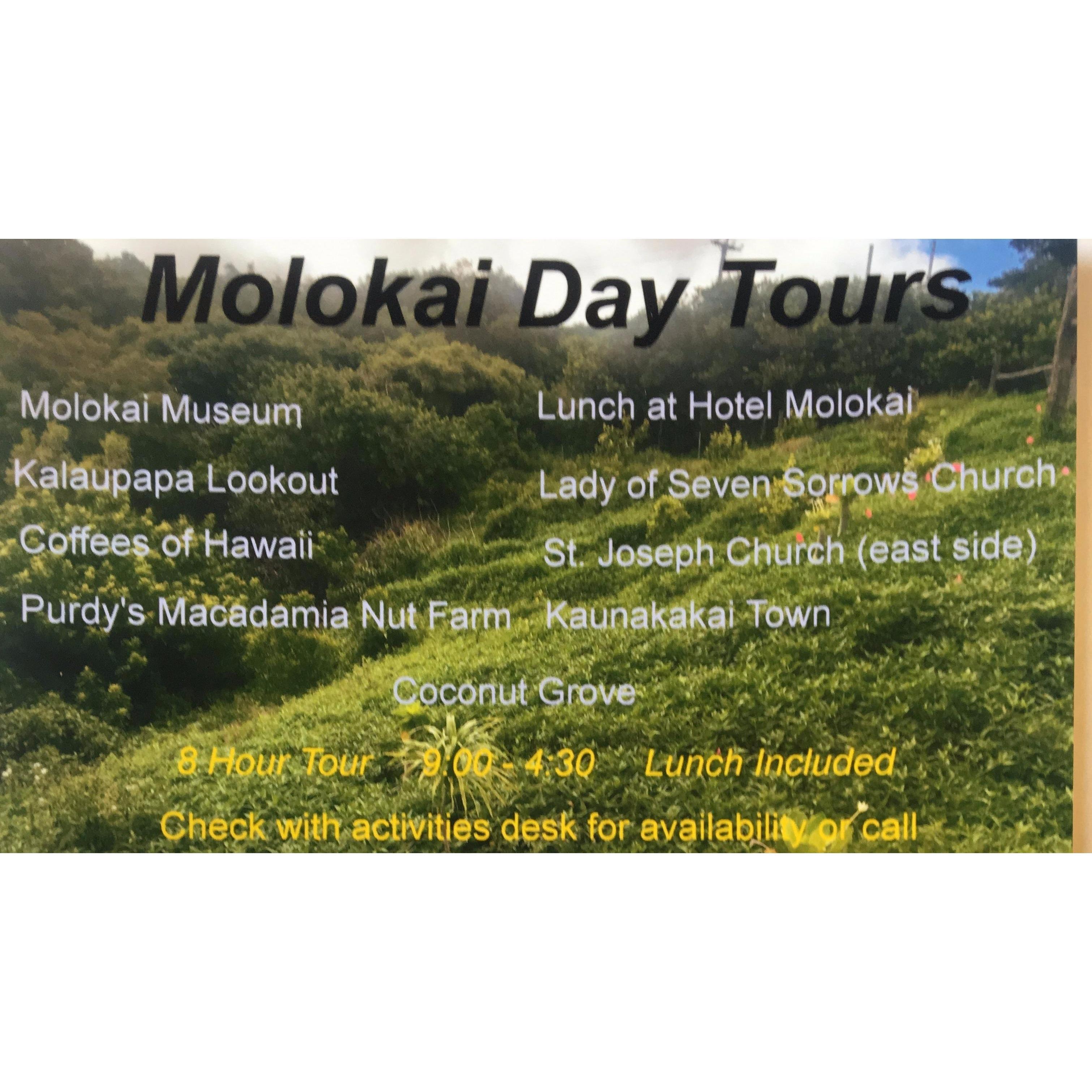 Molokai Day Tours