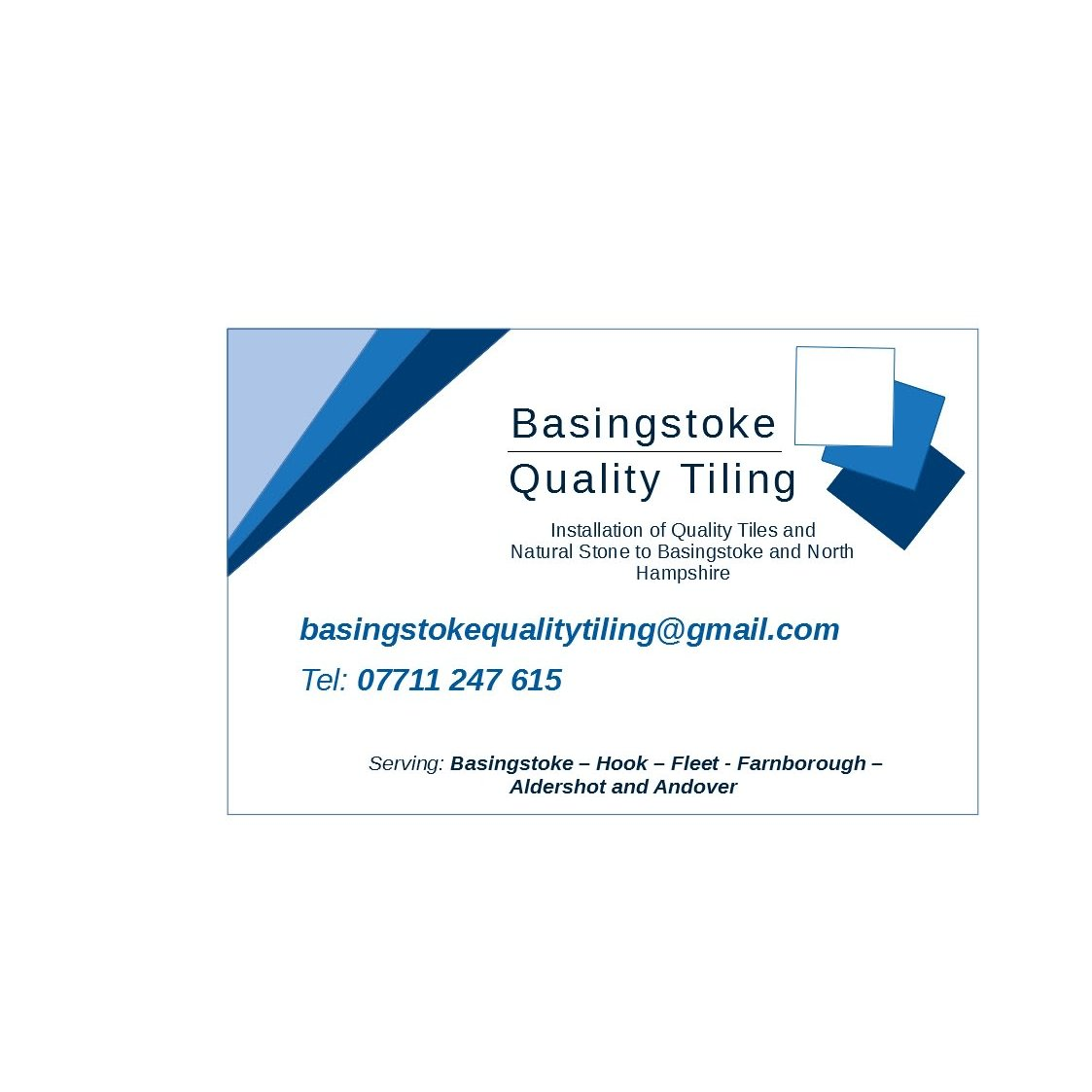 Basingstoke Quality Tiling - Basingstoke, Hampshire RG22 6TD - 07711 247615 | ShowMeLocal.com