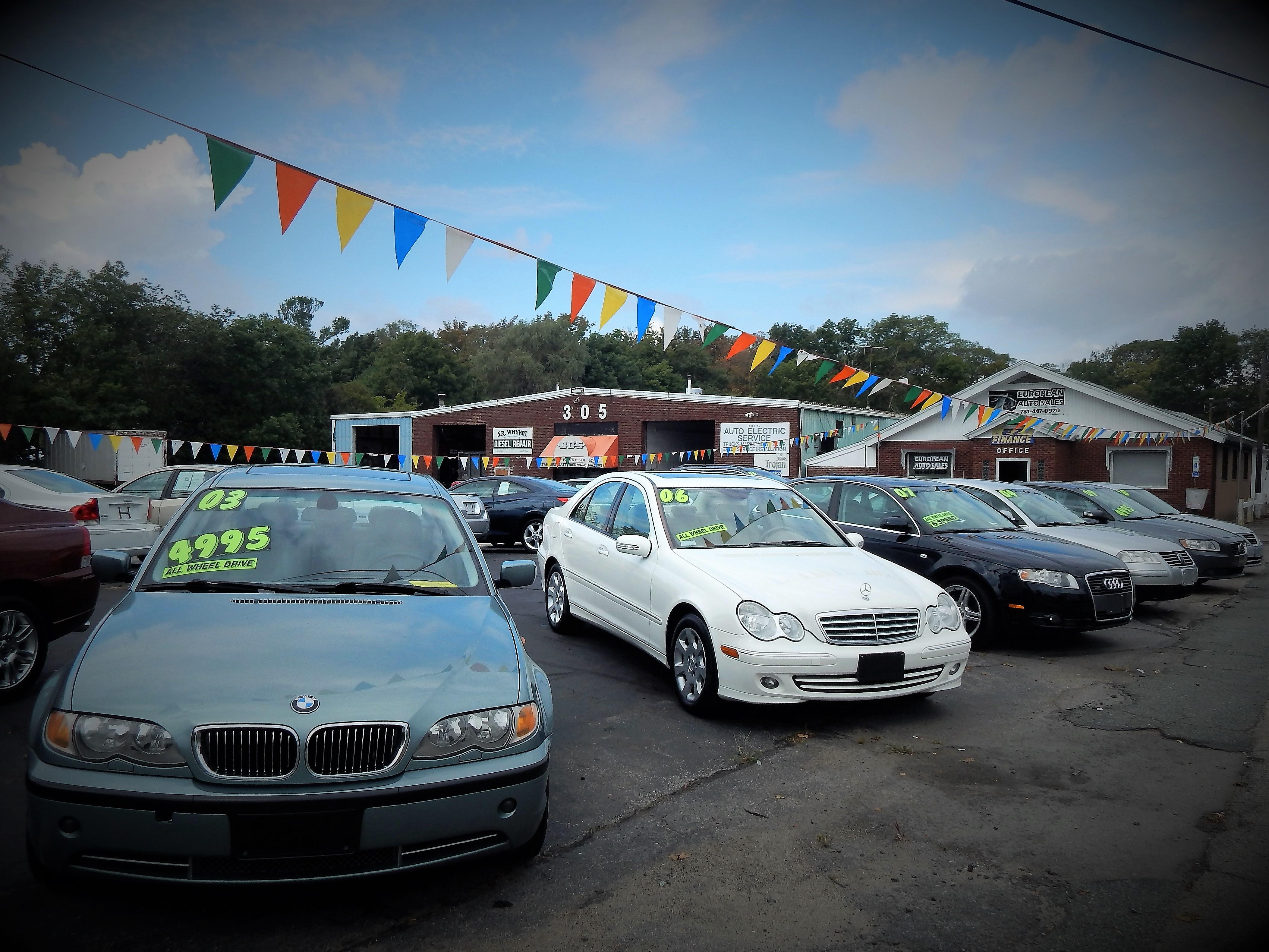 Used Car Dealers Whitman Ma