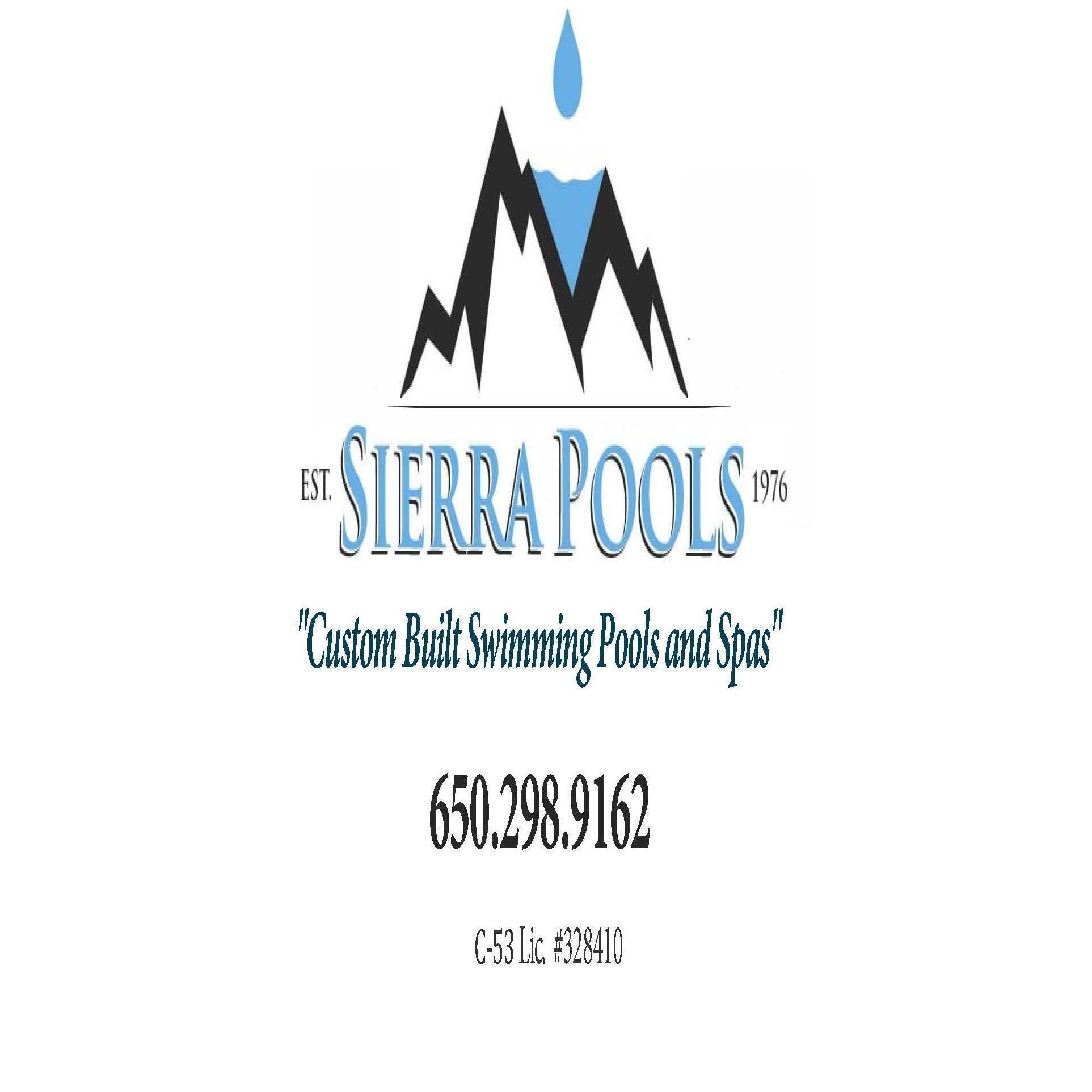"Sierra Pools ""Custom Built Swimming Pools and  Spas"""