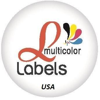 Multicolor Labels - Custom Printed Stickers  and  Decals