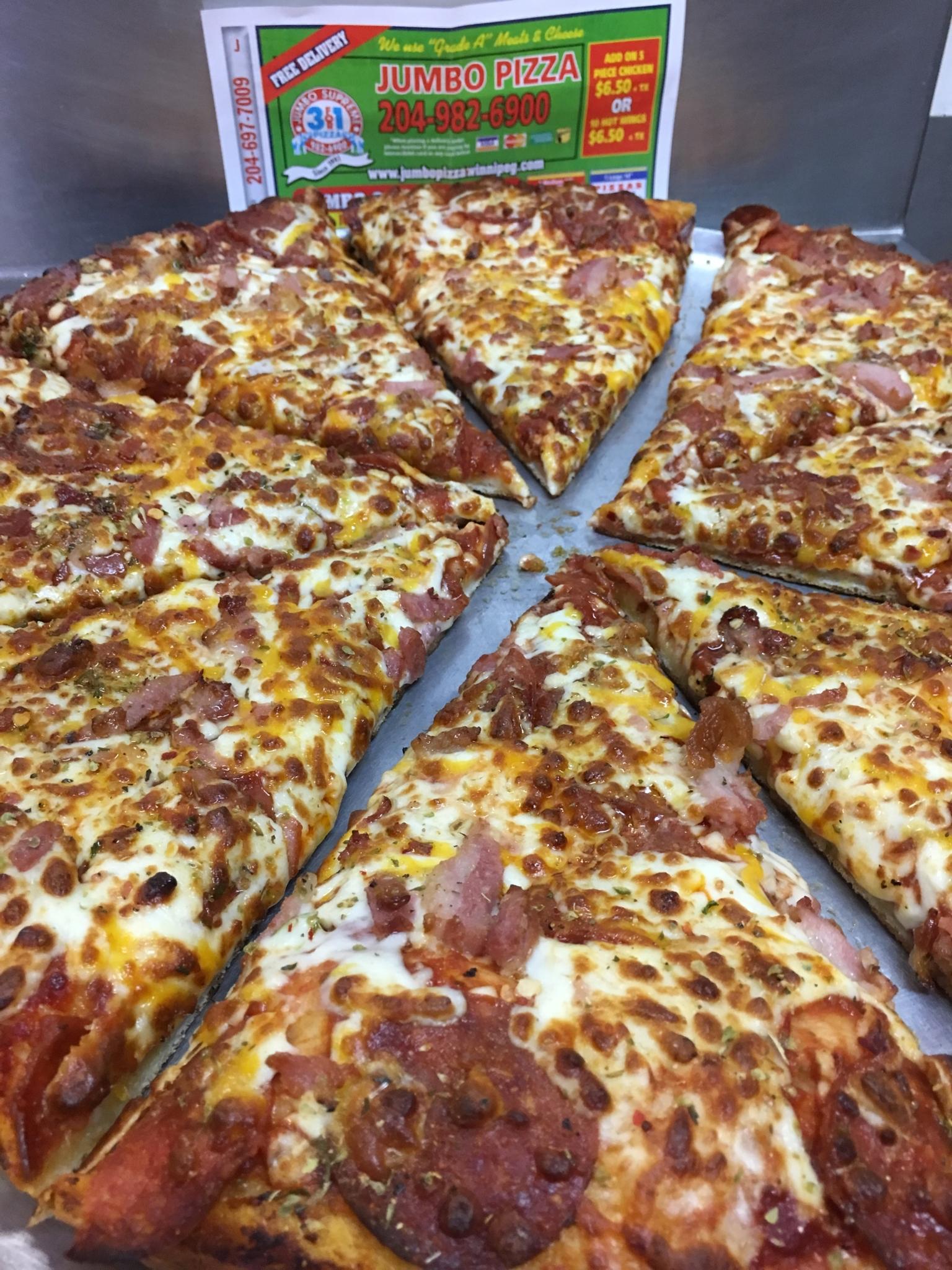 Jumbo Supreme 3 For 1 Pizza Ltd