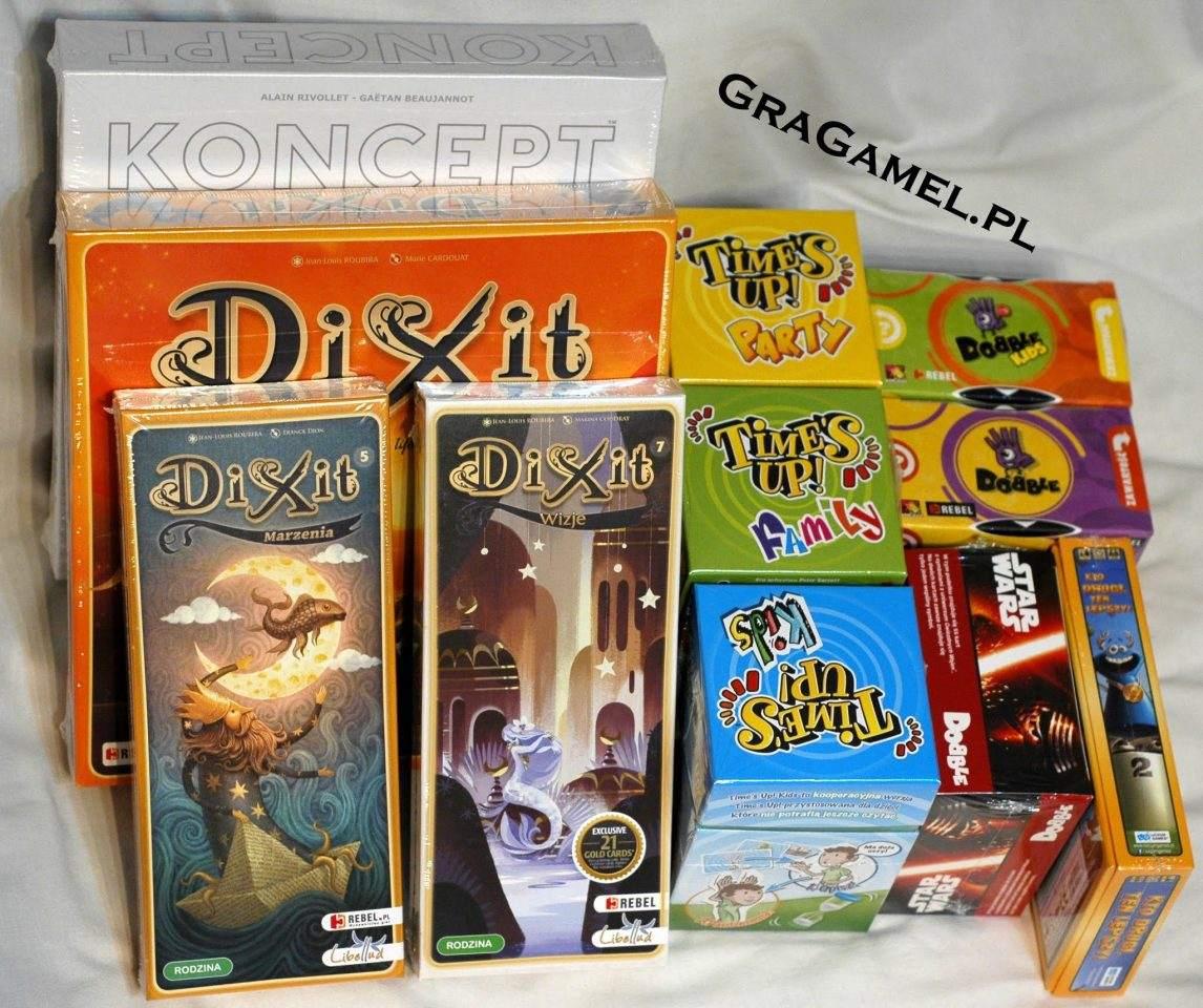 Gragamel.pl - Gry planszowe, zabawki edukacyjne