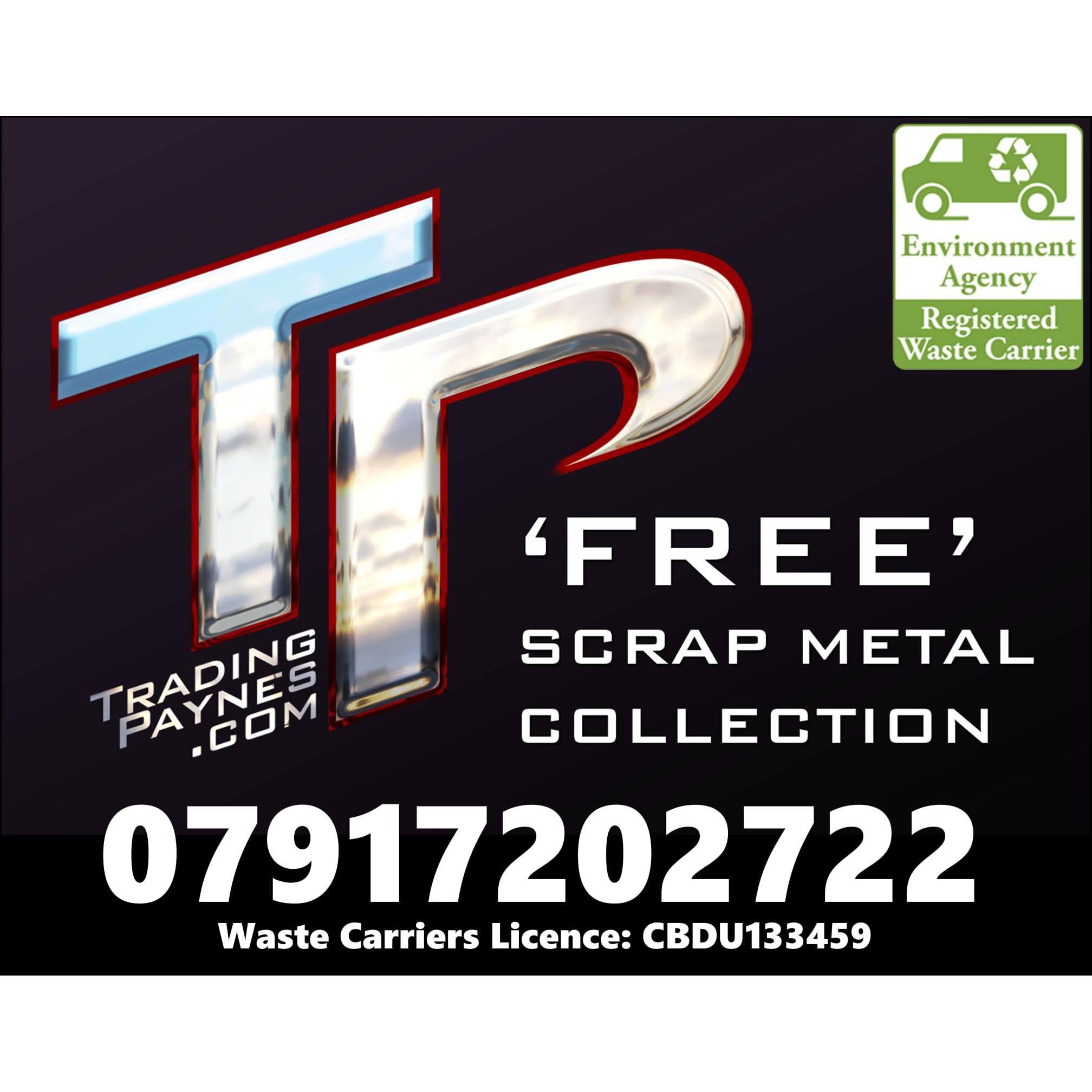 Trading Paynes Free Scrap Metal Collection - Ipswich, Essex IP2 9DJ - 07917 202722 | ShowMeLocal.com