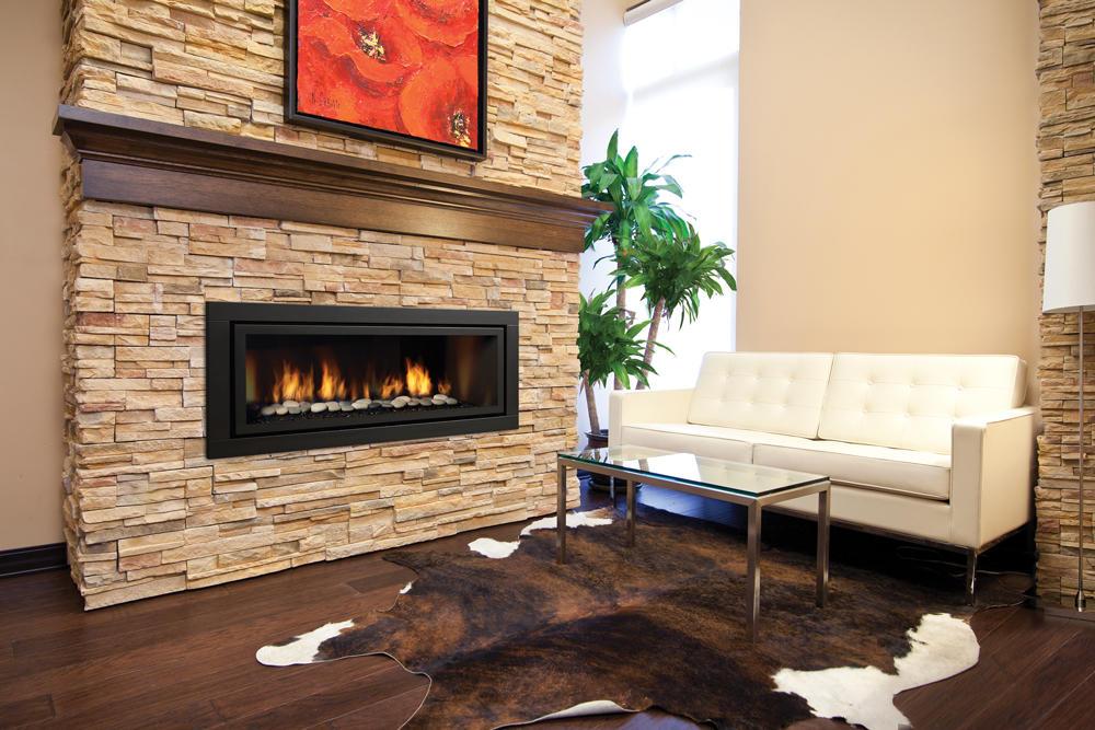 Fireplace Gallery in Edmonton: Regency Horizon HZ54 Contemporary Gas Fireplace
