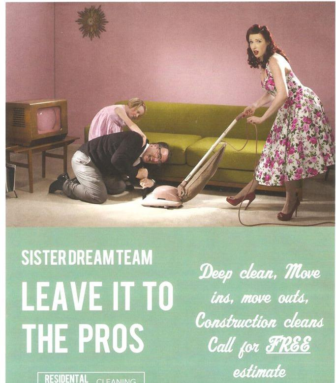 Sister Dream Team Cleaning