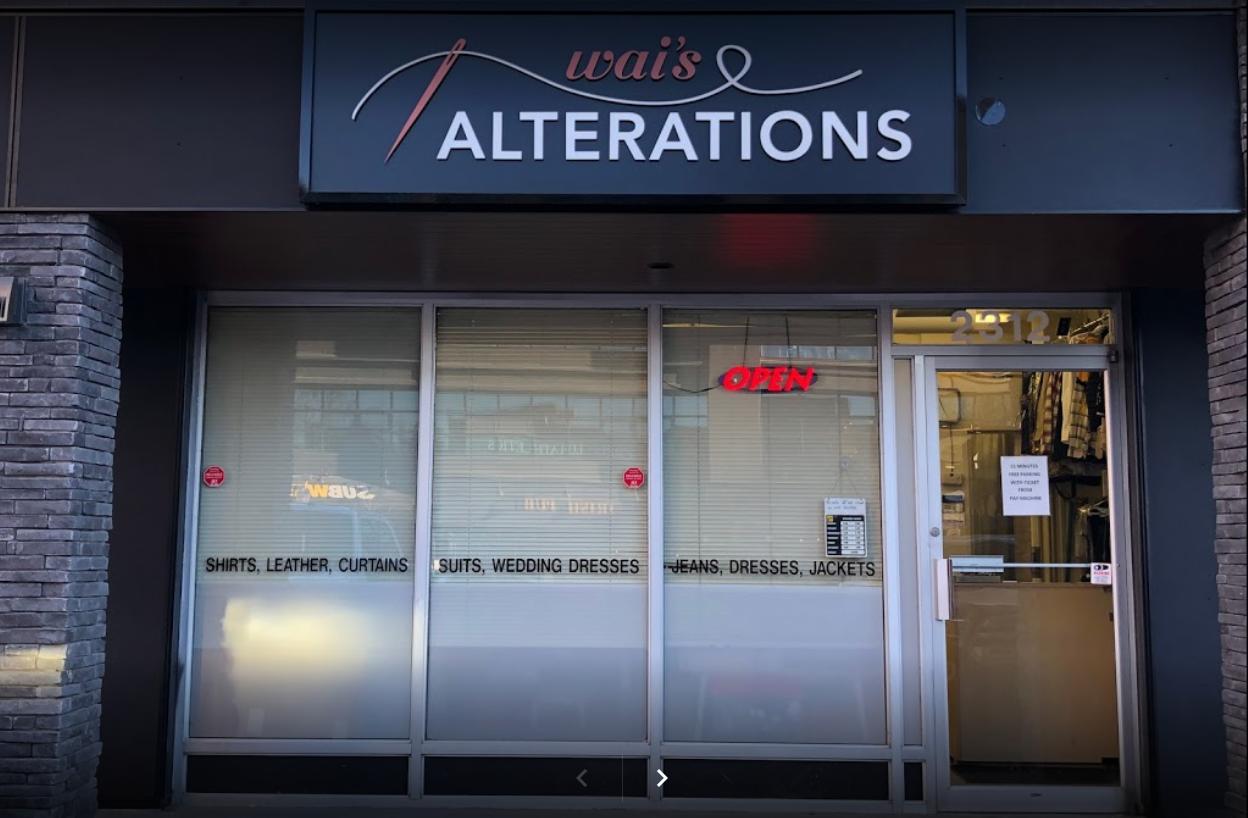 Wai's Alterations in Calgary