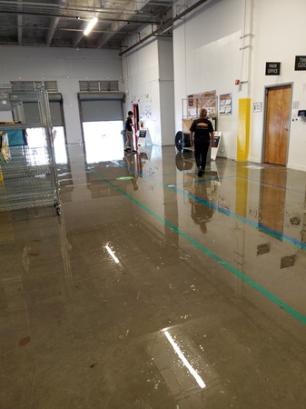 What is the water damage restoration process?