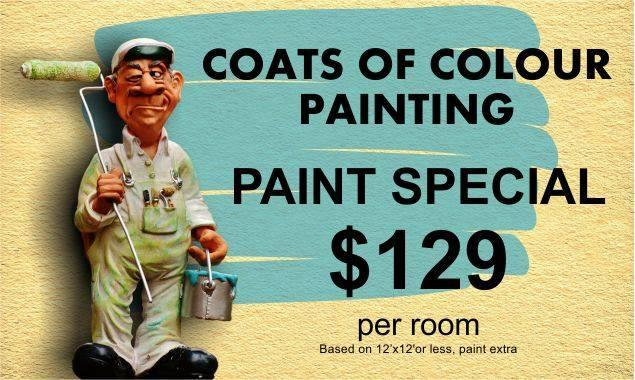 Painter in BC Abbotsford V2S 6Z1 Coats of Colour Painting 33465 Bevan Ave  (778)246-6890