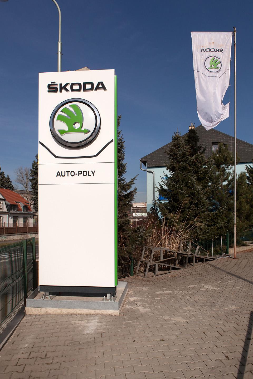 Auto - Poly spol. s r.o. - autorizovaný prodej a servis vozů Škoda a VW užitkové