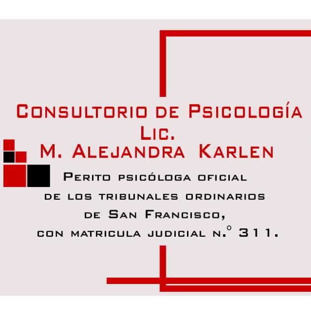 KARLEN M ALEJANDRA - LIC EN PSICOLOGIA