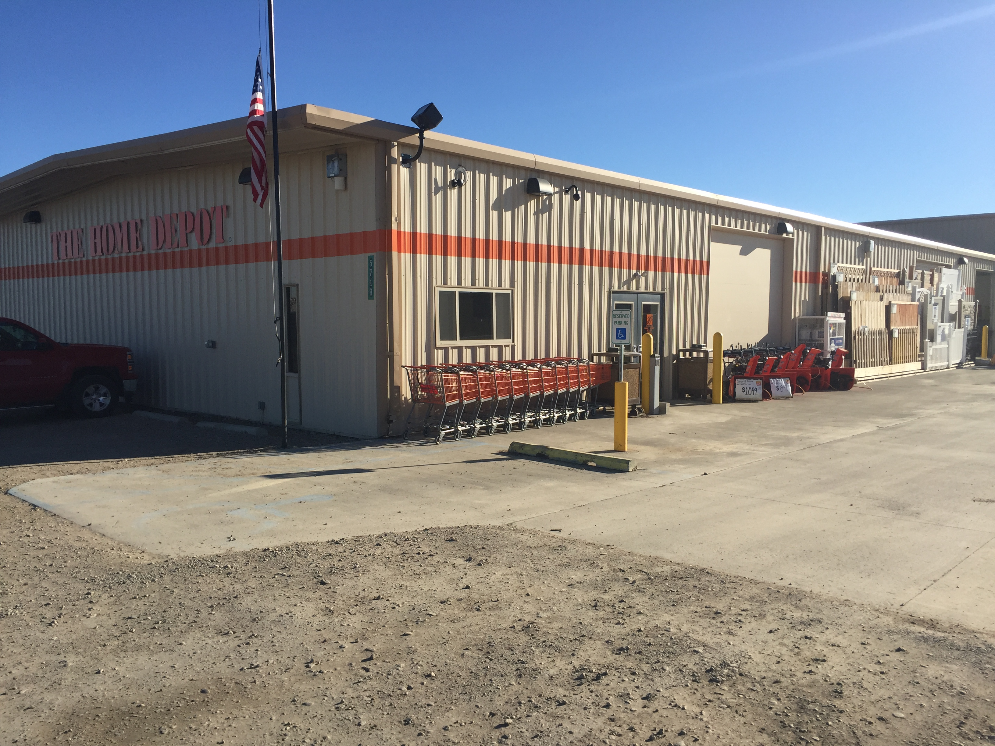 The home depot closed in williston nd 58801 for The williston