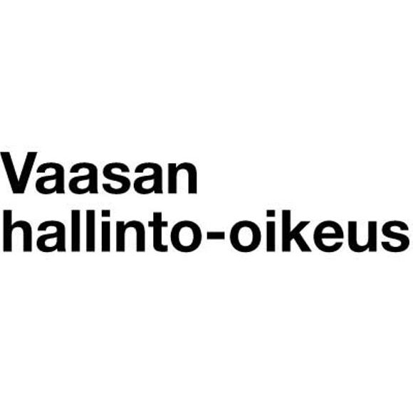 Vaasan hallinto-oikeus / Vasa förvaltningsdomstol