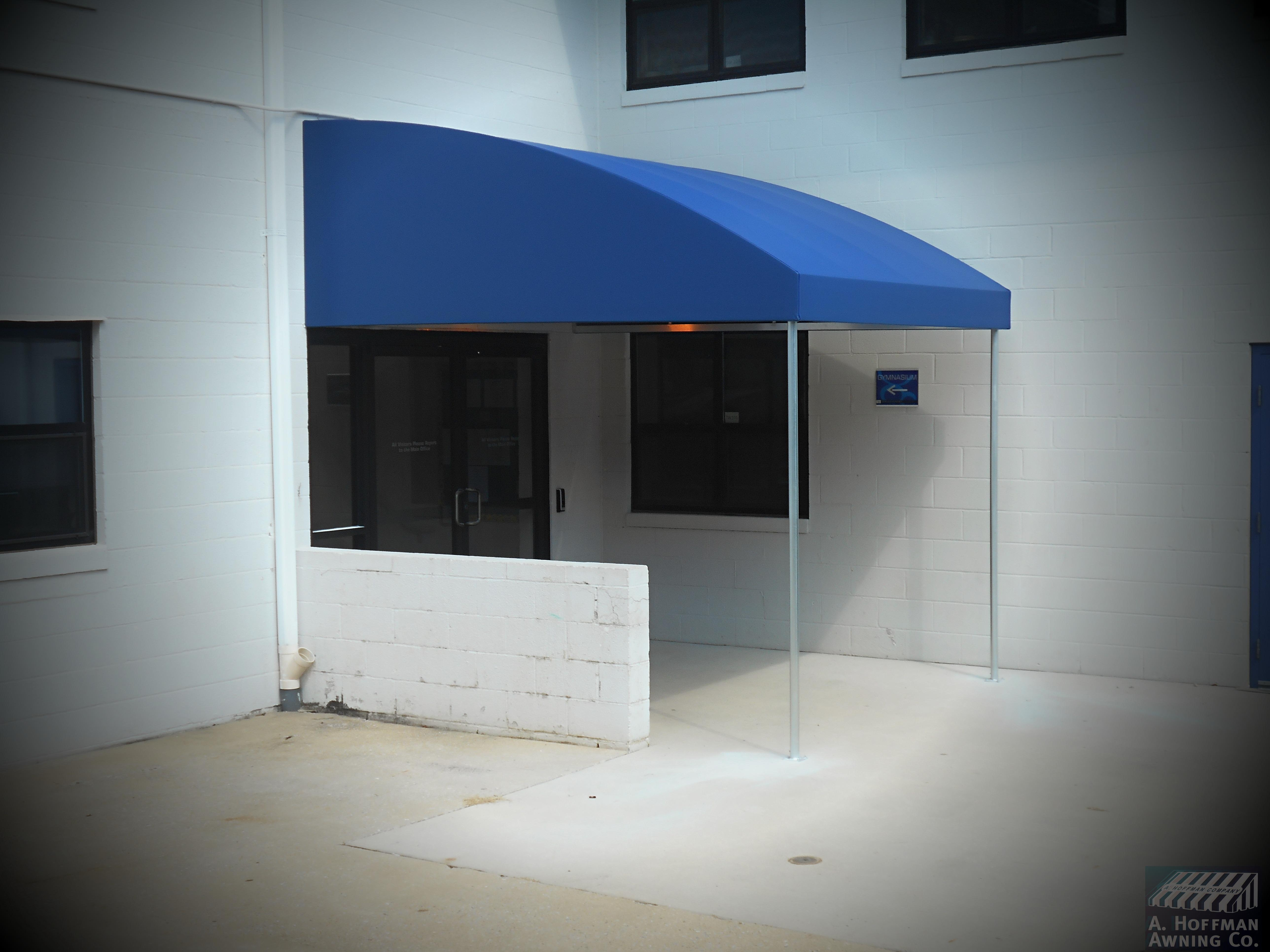 A. Hoffman Awning in Baltimore     410-685-5687     An elegant ramp awning on a building will be greatly appreciated.