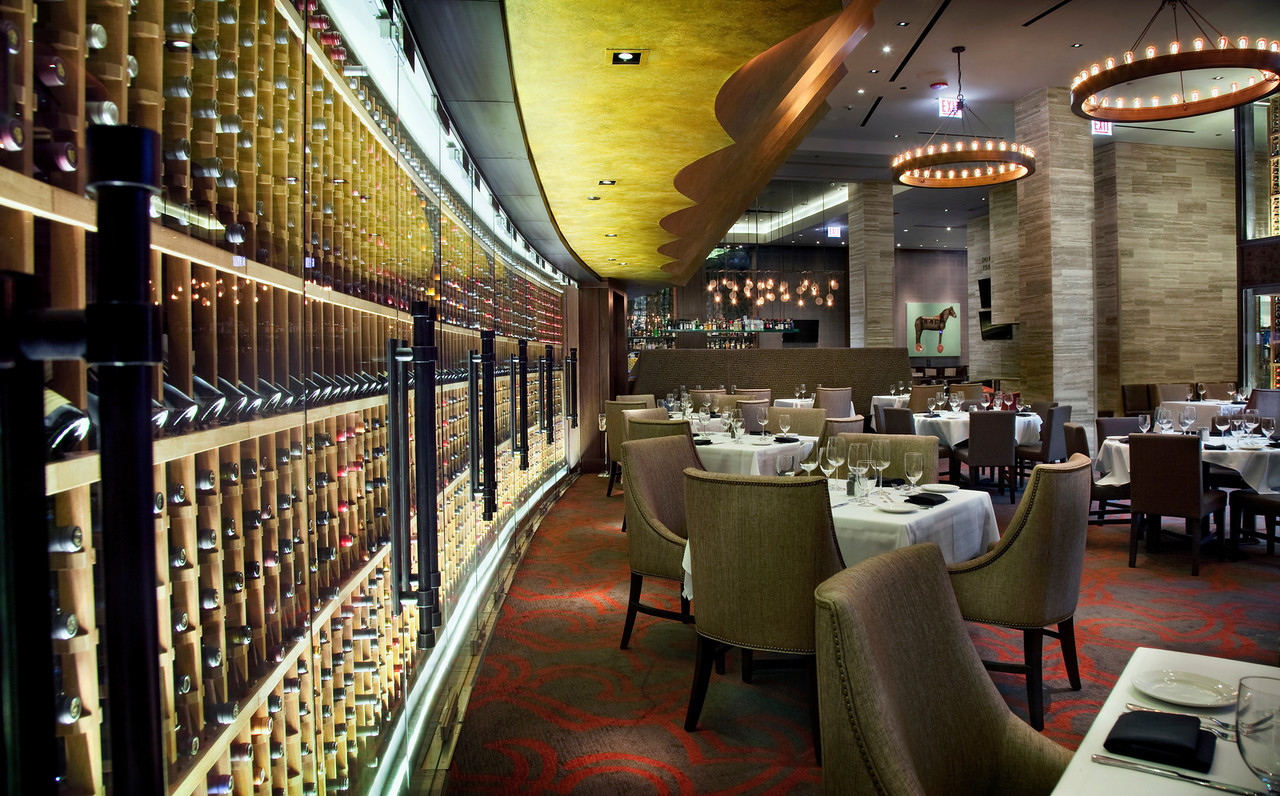 Del Frisco's Double Eagle Steak House Chicago Entire Mezzanine & 3rd Floor Bar private dining room