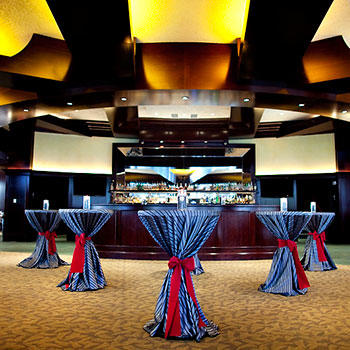 Del Frisco's Double Eagle Steakhouse Charlotte Mezzanine Bar & Dining Space private dining room