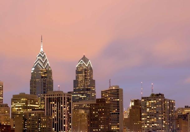Center City Philadelphia Hotel - Residence Inn by Marriott Philadelphia Center City Area Attractions - Philadelphia Skyline