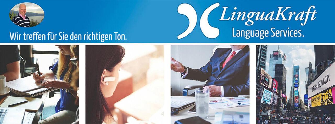 LinguaKraft Übersetzungsbüro Frankfurt. Spezialist für professionelle Übersetzungen Deutsch-Englisch-Deutsch und viele weitere Sprachen. Schwerpunkt: Marketing, Finanztexte, juristische Texte.