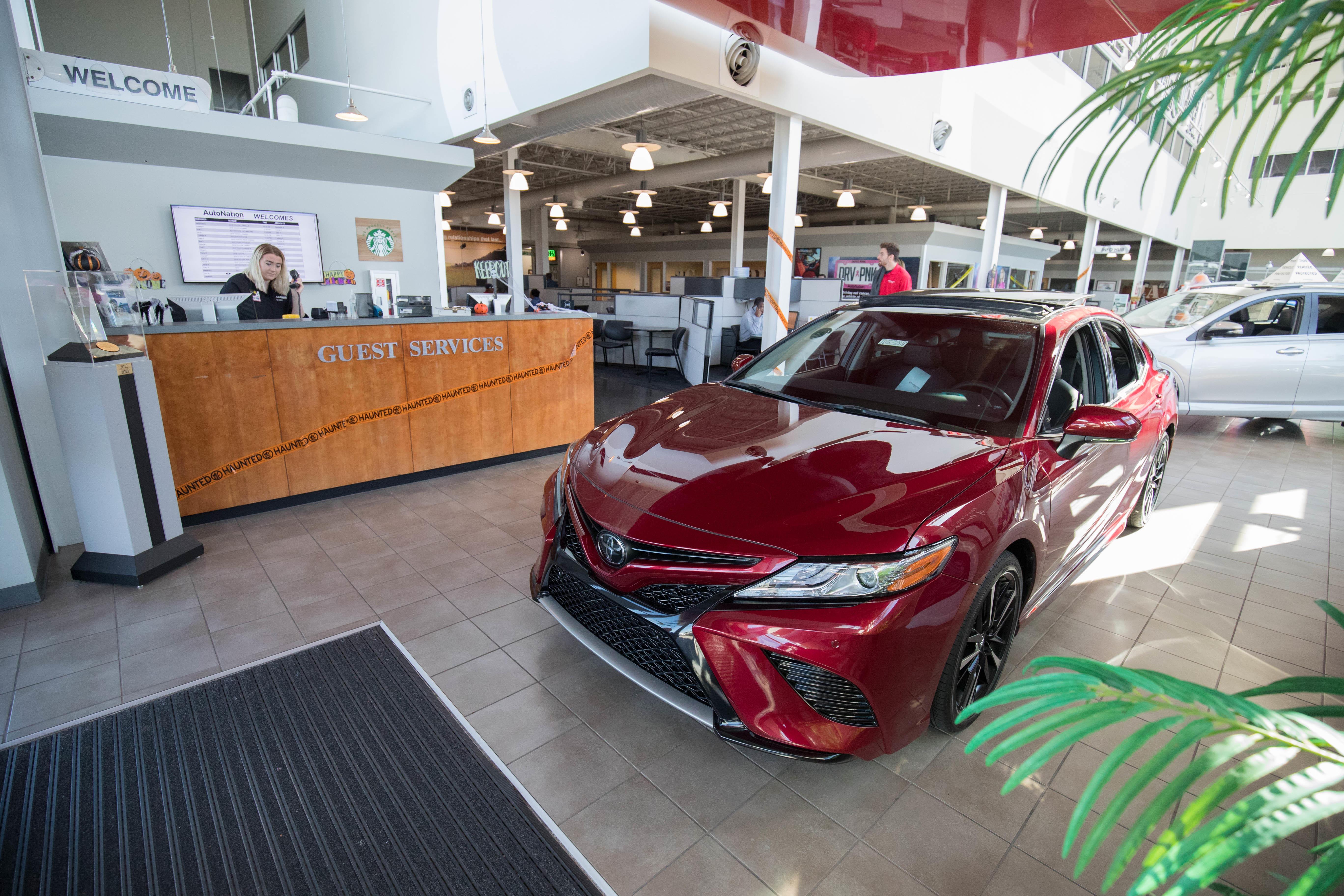 Autonation Toyota Mall Of Georgia In Buford Ga Auto