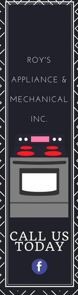 Roy's Appliance & Mechanical Inc