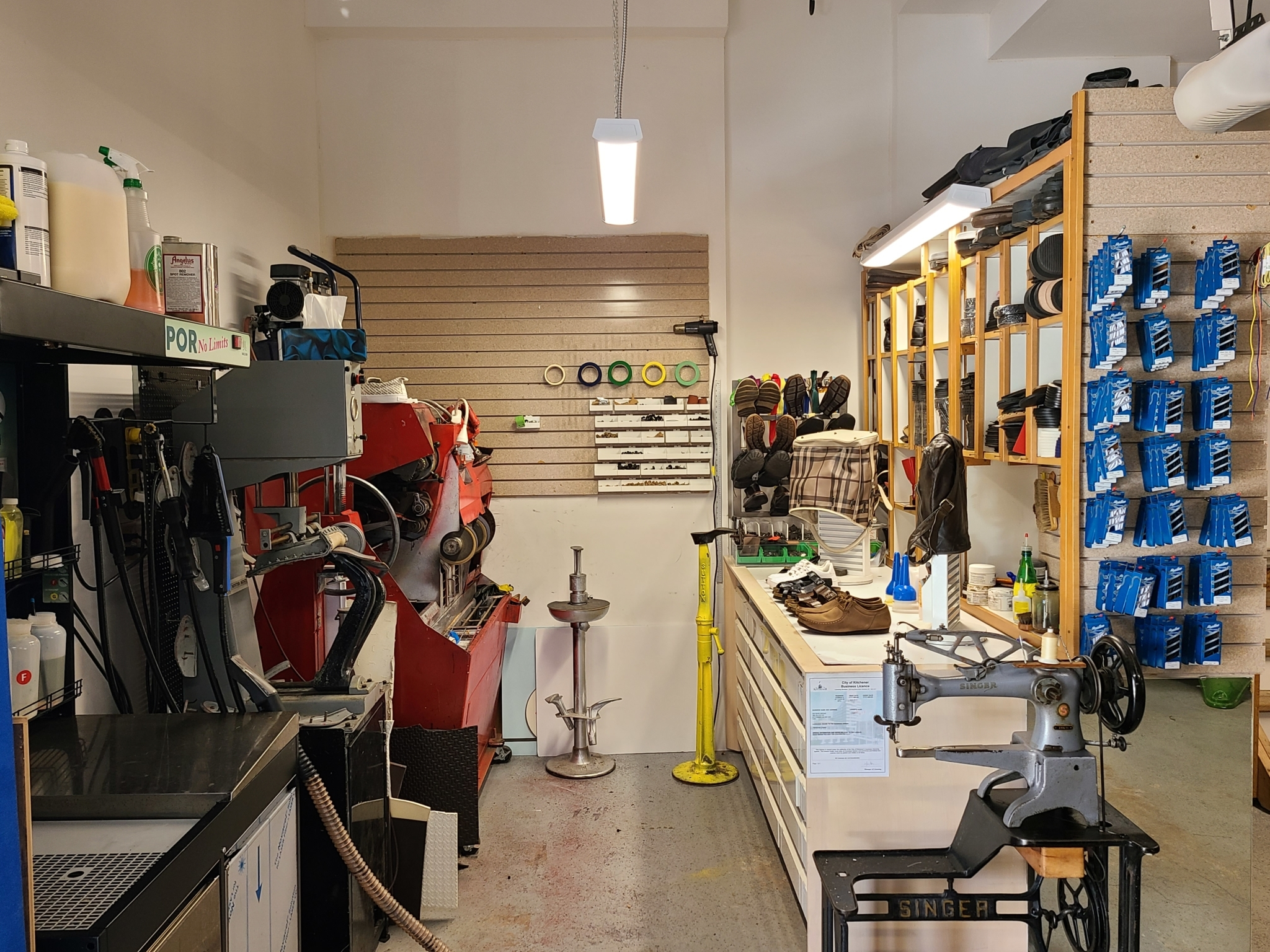 KW Shoe Repair & Sneaker Cleaning Service in Kitchener: ?Repairs on all types of shoes & boots.  ??Always less expensive for you to repair your shoes & boots rather than discard and purchase new ones.  ??We're open Monday to Saturday.