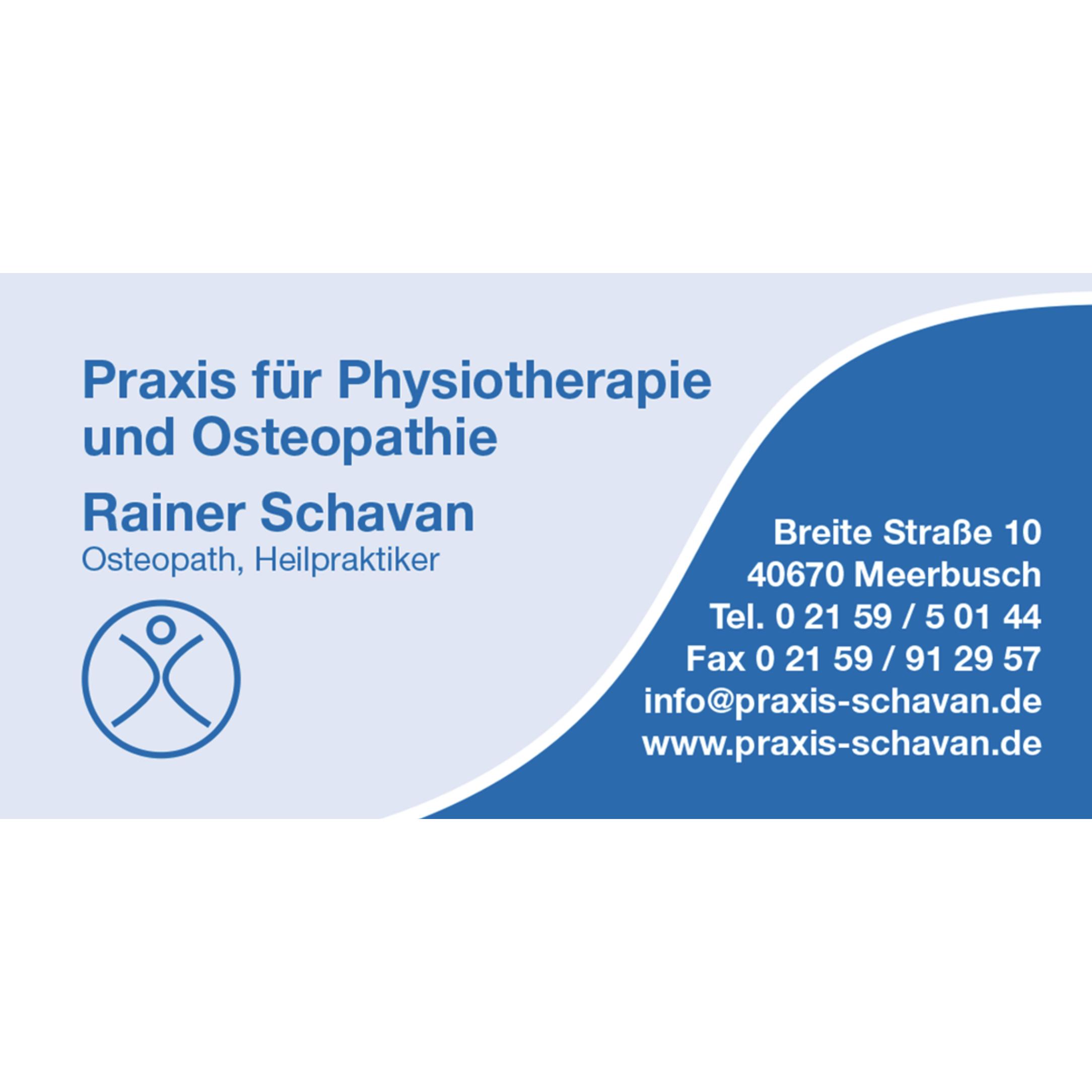 Bild zu Praxis für Physiotherapie und Osteopathie Rainer Schavan in Meerbusch
