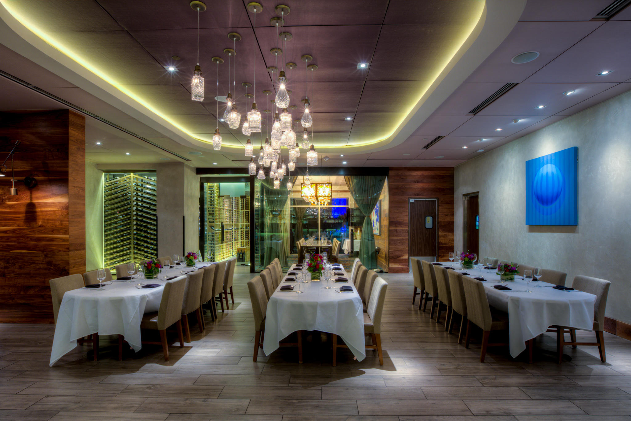 Del Frisco's Double Eagle Steakhouse Orlando VERANDA ROOM private dining room