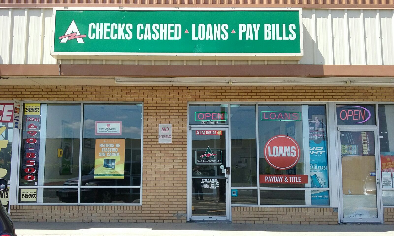 ACE Cash Express, Killeen Texas (TX) - LocalDatabase.com