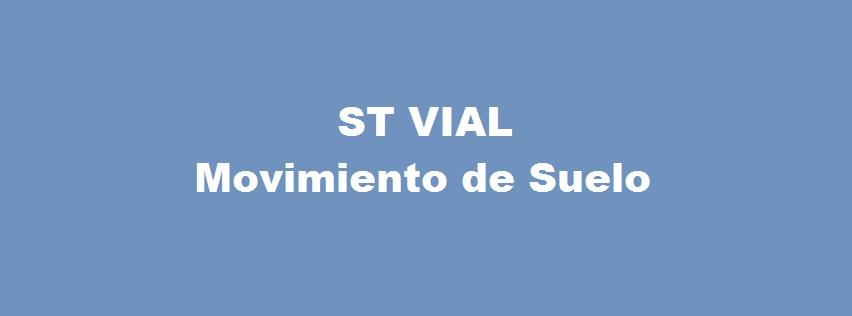 ST VIAL- MOVIMIENTO DE SUELO