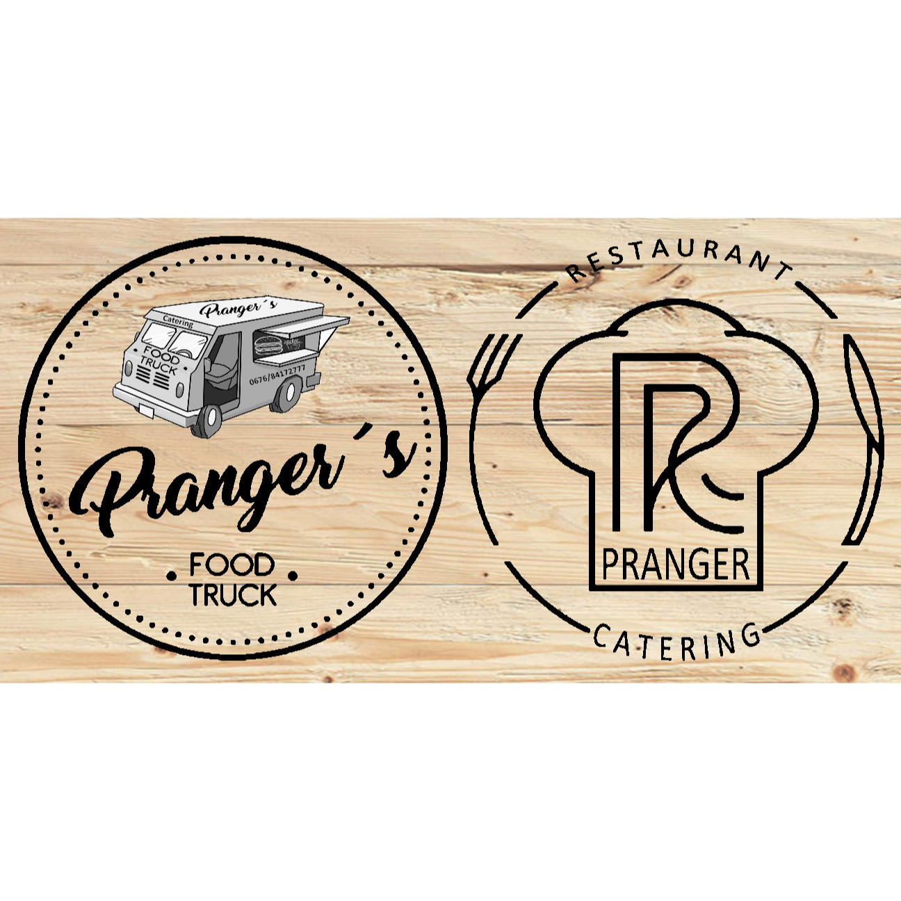 Logo Restaurant, Catering & Foodtruck Pranger