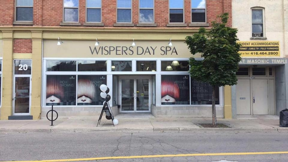 Wispers Hair & Day Spa in Cambridge: street view