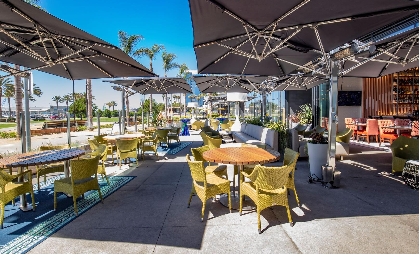 Del Frisco's Double Eagle Steakhouse San Diego Main Patio private dining room