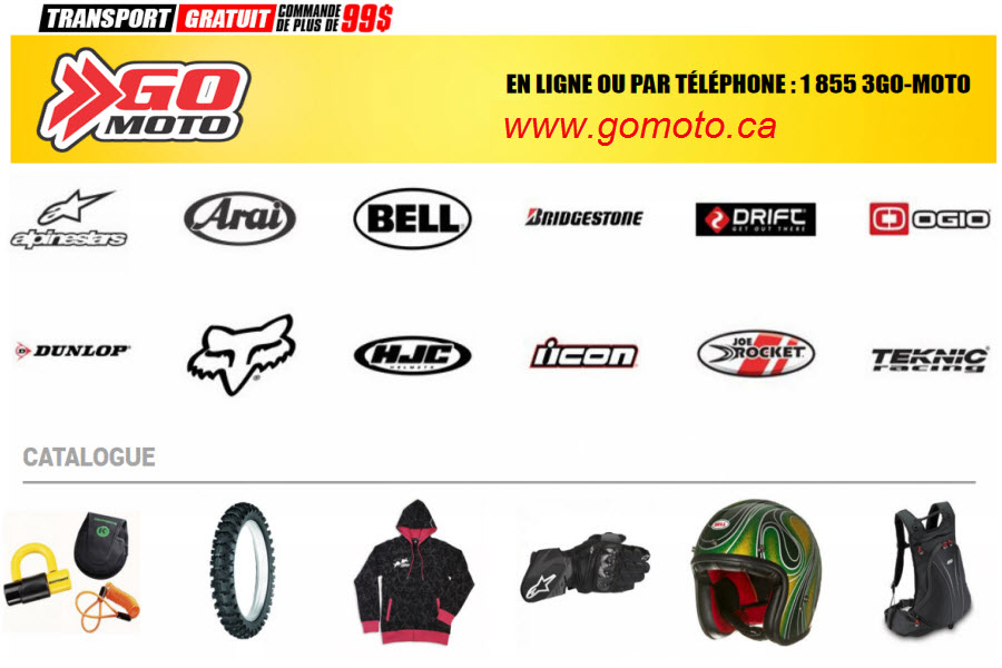 Images Goulet Moto Sports