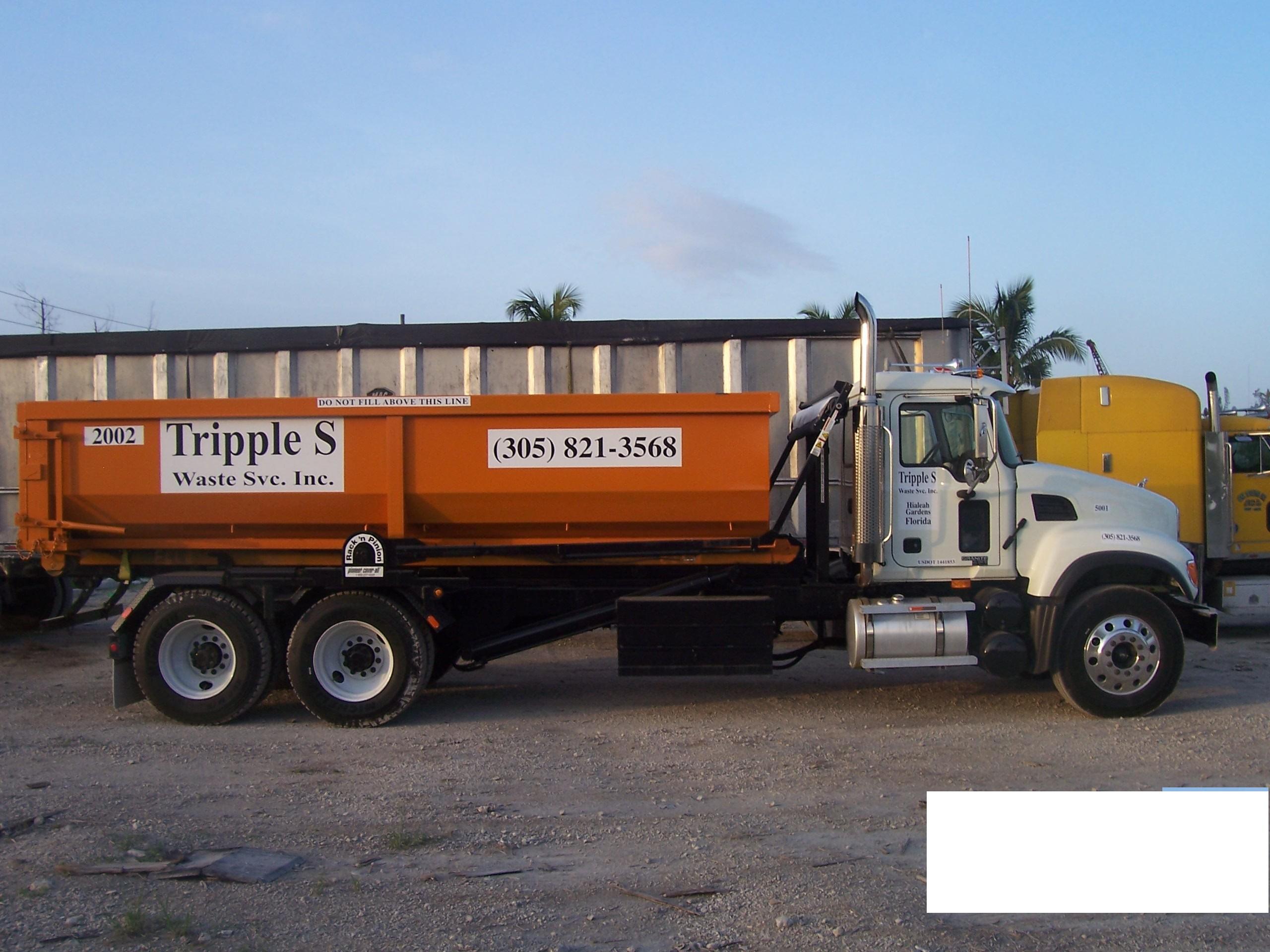 TRIPPLE S WASTE SERVICES INC