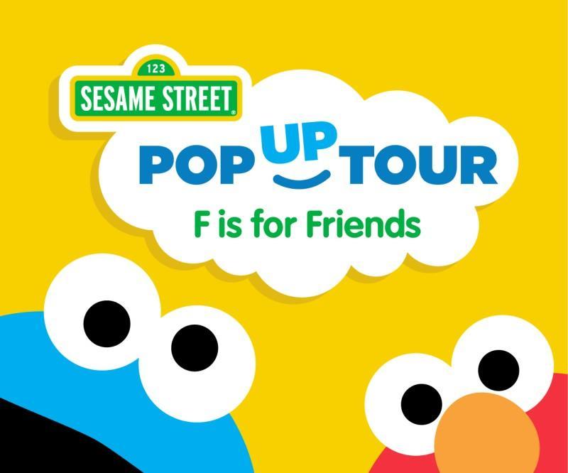 Sesame Street Pop Up Tour at Northbrook Court